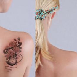 Удаление татуировок от 10 до 20 кв. см.