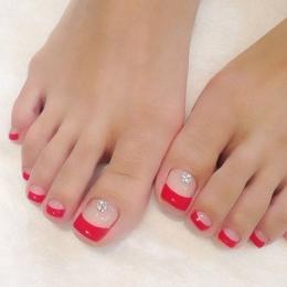 Педикюр пальцев ног классический для Дам