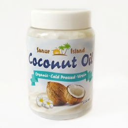 Кокосовое масло Sanur Oil, 400 мл