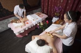 Стоун массаж для двоих