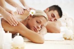 Аюрведический массаж тела на двоих
