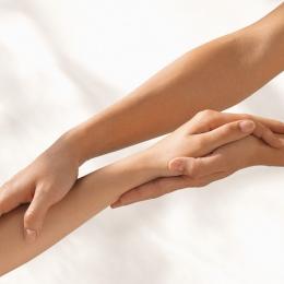 Депиляция рук до локтя
